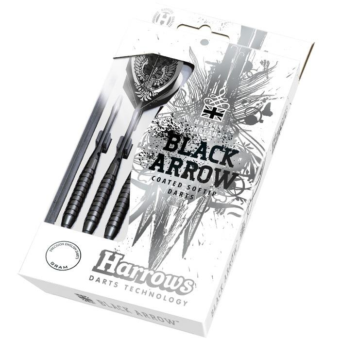 Šipky soft Harrows Black Arrow
