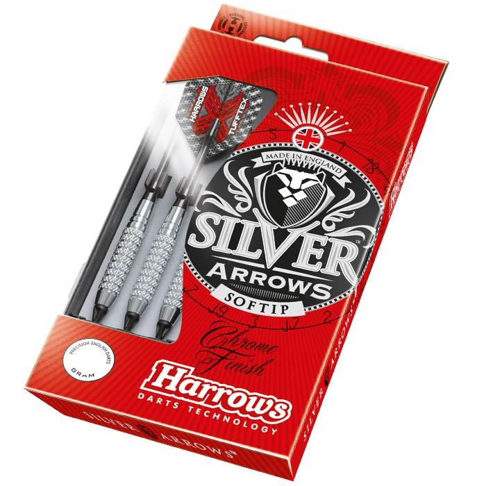 Šipky soft Harrows Silver