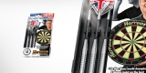 Harrows Šipky Steel Silver Arrows Eric Bristow 18gR
