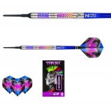 Šipky soft Peter Wright Snakebite Rainbow Mamba 18g Tungsten 90% RED DRAGON