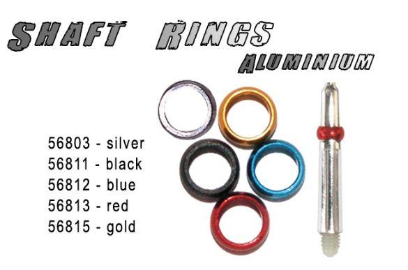 Bull´s prstýnky kovové stříbrné 56803