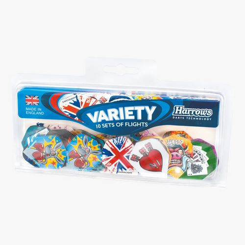 Letky sada Variety Pack 10 druhů Harrows 0004