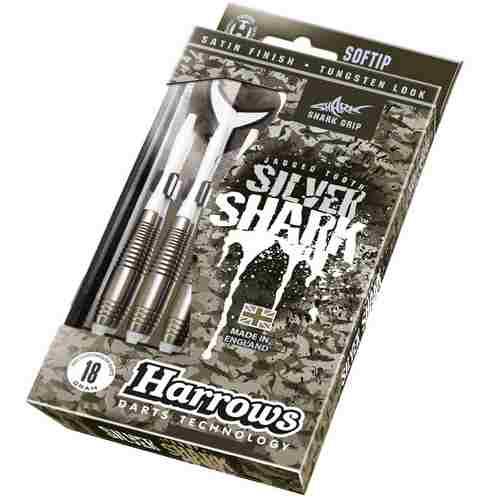 Šipky Harrows Silver Shark 18gR Style B