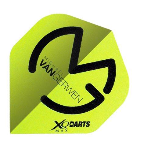 XQMax Darts Letky XQMax 100  - Michael van Gerwen - MvG Green Black