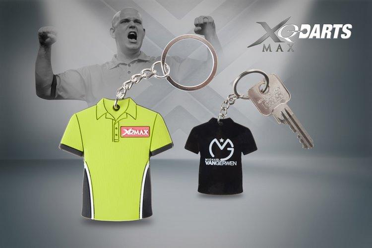 XQMax Darts Keychain Michael van Gerwen - přívěsek na klíče