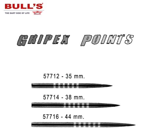 BULL´S GRIPEX POINTS 35MM. 57712