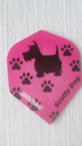 Letky Winmau Scott Mitchell Scotty Dog Mega Standard Pro Player