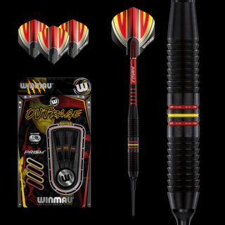 Šipky soft Winmau Outrage 18g style1