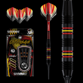 Šipky soft Winmau Outrage 18g style2