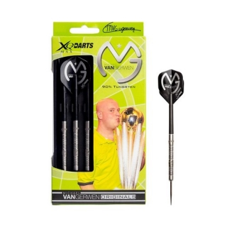 XQMax Šipky steelové Michael van Gerwen 25gR. 90% Tungsten - Mighty Mike
