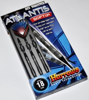 Harrows Šipky Atlantis 18gR
