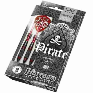 Harrows Šipky Pirate 18gK Red