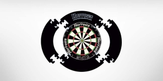 Harrows okruží Dartboard Surround černý