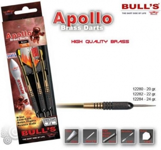 Bull´s Šipky Steel Apollo 20gr. 12280