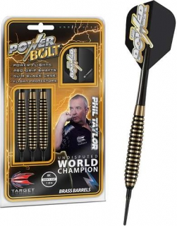 Šipky TARGET Power Bolt Phil Taylor 18 gr.