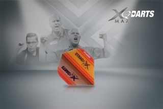 XQMax Darts Letky XQMax 100 - Transparent Orange
