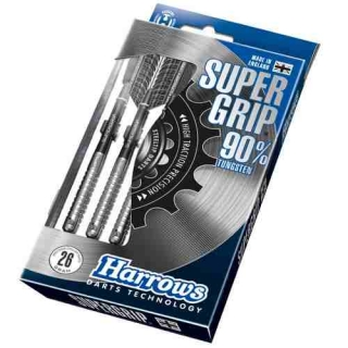 Harrows Šipky Steel Supergrip 90% 26gR