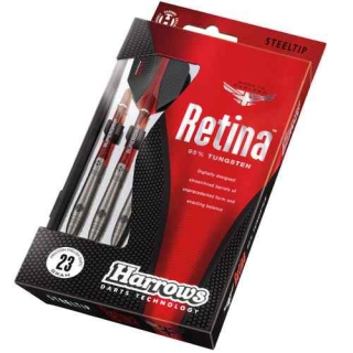 Harrows Šipky Steel Retina 95% 23gR
