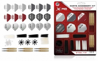 Sada XQMax Darts Accessory Kit Steel 23g
