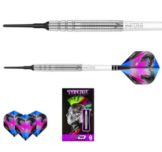 Šipky softt Peter Wright Snakebite PL15 18g Tungsten 90% RED DRAGON