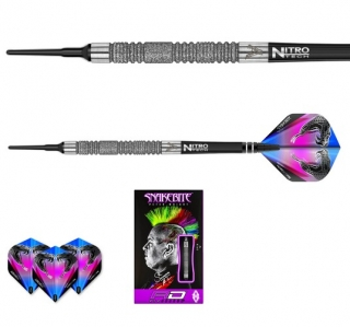Šipky softt Peter Wright Snakebite Euro 11 Element 18g Tungsten 85 RED DRAGON