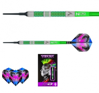 Šipky softt Peter Wright Snakebite Mamba 18g Tungsten 90% RED DRAGON