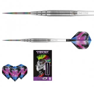 Šipky steel Peter Wright Snakebite PL15 24g Tungsten 90% RED DRAGON