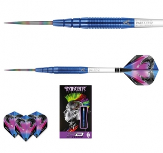 Šipky steel Peter Wright Snakebite PL15 22g blue Tungsten 90% RED DRAGON