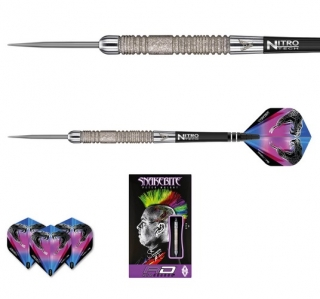 Šipky steelt Peter Wright Snakebite Euro 11 Element 24g Tungsten 85 RED DRAGON