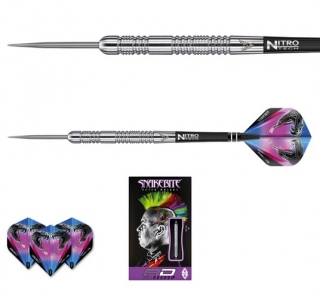 Šipky steel Peter Wright Snakebite Euro 11 24g Tungsten 85 RED DRAGON4
