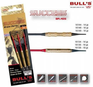 Bull´s Šipky Success Ringed Grip 16gr. 16136