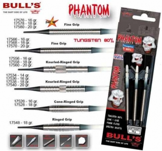 Bull´s Šipky Phantom Ringed Grip 18gr. 17548