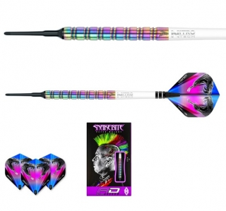 Šipky softt Peter Wright Snakebite 1 18g Tungsten 85% RED DRAGON